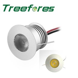 Wholesale Stair Step Lights - Wholesale- 9PCS Mini 3W 12V 24V CREE 80Ra Led Bulb Spot Light With Transfomer COB LED Downlight Lamp for Step and Stair Lighting