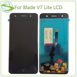 Wholesale Replacement Touch Screen Panel Zte - AAA+ Quality Complete LCD For ZTE Blade V7 Lite Screen Replacement Display with Touch Ecran No Dead Pixel