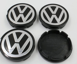 20pcs / lot 55 milímetros centro de roda calotas Cap Fit For Volkswagen VW Polo Golf Passat Bora Bettle Jetta CC 6N0 601 171, 6N0601171 de