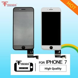 Wholesale Ear Cold - High Quality A+++ for iPhone 7 LCD Display & Touch Screen Digitizer Assembly OEM 3D Touch Cold Frame with Camera Sensor Ring Ear Mesh