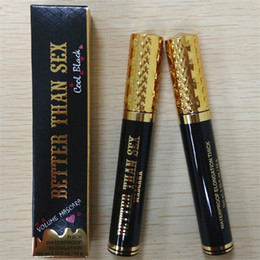 Wholesale Black Volume - Faced Volume Mascara Better Than Sex Cool Black Mascara TF Thinck Waterproof Elongation 10g High Quality DHL free