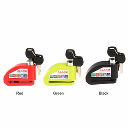 Wholesale disc brake alarm - Motorcycle Moto Scooter Bicycle Disc Brake Lock Security Anti-theft Alarm Lock