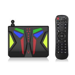 Wholesale Top 3d Media Player - NEW M96X VBOX Android 6.0 Quad Core TV Box S905X Wifi 4K Smart Set Top Box BT 3D HD Media player