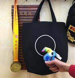 Klassische Muster schwarz Canvas Tasche Damen Handtasche Mode C kosmetische Box Freizeit Clutch Bag Designer Shopping Strand Brieftasche VIP Geschenk von Fabrikanten