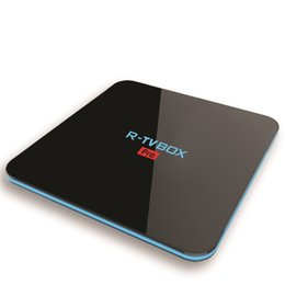 Wholesale Miracast Dual Core - R-TV Pro Streaming Media Player Octa-Core S912 Android 7.1 Smart TV Box 2G 16G Dual WIFI BT4.0 1000M LAN DLNA Miracast AirPlay Freeshipping