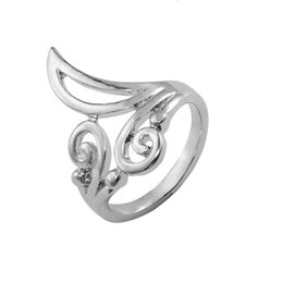 Wholesale Cool Rings For Women - Cool Retro Zinc Alloy Wedding Rings Band Flower Leaf Promise Beautiful Cute Ring for women Fashion Silver plated Mens Ring Fine Jewelry