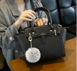 Wholesale Shoulder Bag Minimalist - 2017 autumn and winter new minimalist handbags Europe and the United States fashion platinum shoulder bag ladies hand Messenger bag