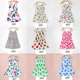 Wholesale Wholesale Over Lace - summer ins girls lemon dress baby fruit cotton dresses children bow dress over 27style choose free ship for 3-8years