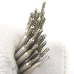 20 Pcs Diamètre 1mm Plaqué Diamant Plaqué Trou Scie Perceuse Bits Solides pour Bijoux Gems Verre Carreau En Céramique Marbre Granit ? partir de fabricateur