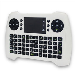 Wholesale Remote Control Computer Mouse - factory spot goods 2.4G Wireless air flying squirrels Mini wireless mouse and keyboard emboitement For computer and TV remote control