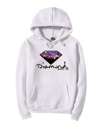 Wholesale Hip Hop Clothing Diamond Hoodie - new design autumn winter fashion kanye west Harajuku Star Diamond hoodies Palace skateboard hip hop off white Lovers clothing