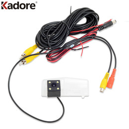 Wholesale Toyota Car Rearview Camera - For Toyota RAV4 RAV 4 2016 2017 HD CCD Car Camera reverse rear view backup camera rearview LED parking Assistance Car Accessories