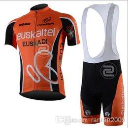 Wholesale Euskaltel Euskadi - 2013 outdoor sportwear road men's euskadi euskaltel t-shirts jersey bicycle skinsui cycling jersey + bib shorts team cycle clothing sets