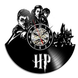 Wholesale Quartz Wall - Harry Potter Hermione Vinyl Record Wall Clock - Decorate your home with Modern Art - Gift for adults, girls and boys