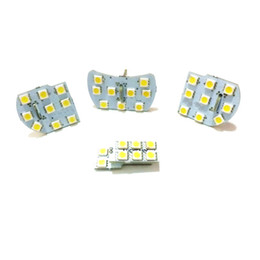Wholesale Chevrolet Cruze Interior - 4pcs lot, LED car interior reading lights, LED car decorative lights for Chevrolet Cruze and Buick excelle GT (Verano) automotive supplies