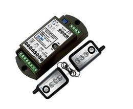 2019 controle de acesso da porta do cartão inteligente Atacado-4-chave universal controle remoto sem fio (receptor + transmissor) kit para porta de correr de vidro automática dorma