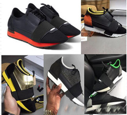 Wholesale Business Casual Sneakers Men - Free Shipping new Top Sneakers Men and Women Leather Business Casual Shoes Paris Men Designer Shoes
