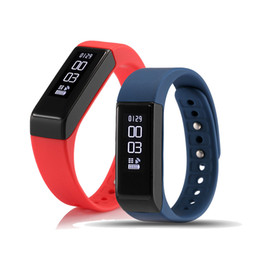 Wholesale Touch I5 - 2017 I5 Plus Smart Bracelet Bluetooth 4.0 Waterproof Touch Screen Fitness Tracker Health Wristband Sleep Monitor Smart Watch