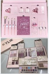 Wholesale Wholesale Christmas Sets - KYLIE I WANT IT ALL The Birthday Collection Makeup Set Take Me On Vacation Eyeshadow Palette