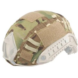 Wholesale Emerson Fast - Outdoor Tactical Military Emerson Paintball Wargame Army Airsoft Helmet Cover Fast Helmet BJ PJ MH Multicam Typhon Camo