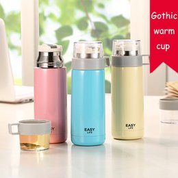 Wholesale Gothic Cup - Gothic Thermal Insulation Cup Vacuum water bottles Double Layer Stainless Steel cup Non-magnetic tumbler cups 350ML Multicolor