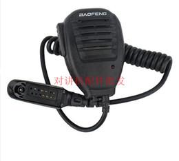 Wholesale Waterproof Walkie Talkie Radio - Wholesale- Baofeng Microphone handheld Speaker Mic for BAOFENG A58 BF-9700 UV-9R Waterproof Walkie Talkie