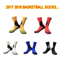 Wholesale Professional Shoot - 2017 18 All-Star New Hot Shot Basketball Socks Professional Sports Socks High Quality Fashion Men's Basketball Socks Wholesale