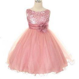 Новый сладкий цветок девушка платья с цветок партии Причастие театрализованное платье для маленьких девочек дети/дети платье для свадьбы от Поставщики европейские платья первого общения