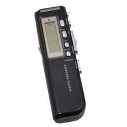 Wholesale Digital Voice Recorder Wav Format - Wholesale-2017 Brand New VOR digital Voice Recorder 8GB Voice Activated Dictaphone + MP3 Player gravador de voz Recording Format WAV
