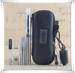 Wholesale Pink Waxed Thread - EVOD 4 in 1 Vape Kit Multi Atomizers MT3 CE3 Glass Wax Dry Herb vaporizer with 510 Thread EVOD Battery MOQ 10PCS DHL Free