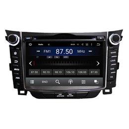 Mejor reproductor de mp3 de teléfono móvil online-2016 El mejor precio reproductor de DVD del coche de 7inch Android5.1 para Hyundai I30 con GPS, control del volante, Bluetooth, radio