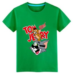 61e37b28411 2017 Summer 3-11Y kids clothing for boys t shirt short sleeve boys fashion t -shirt for BOY children s cute cartoon Tom pig Pet Wizard