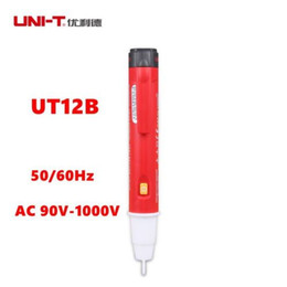 Wholesale Contact Induction - Uni-T UT12B Non-contact Induction Test Pencil Volt Detectors AC 90V-1000V Tester