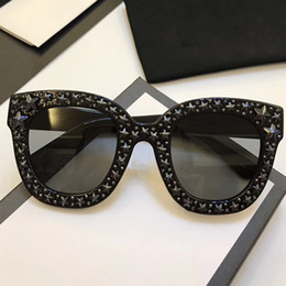Deutschland 0116 sonnenbrille luxus frauen marke designer katzenaugen brille sommer stil rechteck vollformat top-qualität uv-schutz kommen mit fall cheap cat uv protection glasses Versorgung
