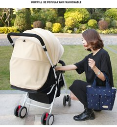 Wholesale Waterproof Pvc Handbags - Wholesale mummy bag multi-function portable handbag waterproof female canvas bag