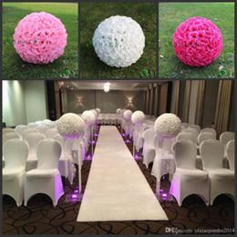 soie grande boule de fleurs blanches Promotion 20