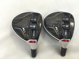 Wholesale Golf Clubs Fairway Woods - Brand New M1 Fairway Woods M1 Woods Golf Clubs #3 #5 R S-Flex Graphite Shaft With Head Cover