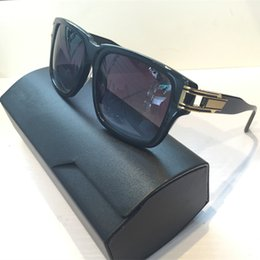 Wholesale grand big - New Men Brand Sunglasses Grand Mast Two Limited Edition Sunglasses Goggles Frame Retro Style Big Frame Gold Plated Top Quality