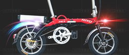 Wholesale White Folding Bikes - Electric folding bikes and bicycle 2016 new urban style folding bikes, convenient, flexible and lightweight, suitable to and from work, the