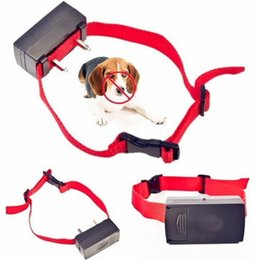 Wholesale Dog Voice Collar - HOT Automatic Voice Activated No-Barking Control Anti Bark Dog Training Shock Control Collar dogs hot search