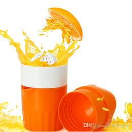 Соковыжималки для цитрусовых онлайн-1 шт. оранжевый соковыжималка пластиковые ручной апельсиновый лимонный сок пресс соковыжималка фрукты соковыжималка цитрусовые соковыжималка фрукты развертки
