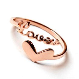 Wholesale Alloy Adjustment - Fashion Beautiful Charms Love Ring Wholesale 925 Jewelry Silver Plated Ring Couple Opening Adjustment Fashion Jewelry Ring For Women