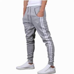 Wholesale Men Harem Long Trousers - Wholesale-Men Pants 2016 High Quality Pants Harem Pant Men Casual Slim Long Trousers Sweatpants Men Tracksuit Bottoms For Track