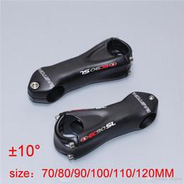 Wholesale Carbon Stem Ud - 2016 EC90 UD Matt Carbon fiber Bicycle Stem cycling bike parts stem carbon 31.8 x 70 80 90 100 110 120 130mm angle 10 °