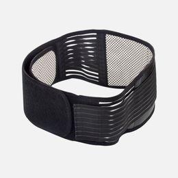 Wholesale Self Heating Tourmaline - Fat Burner Self Heating Tourmaline Magnetic Therapy Massager Belt Waist Brace Slimming Lumber Belly Muscle Stimulator
