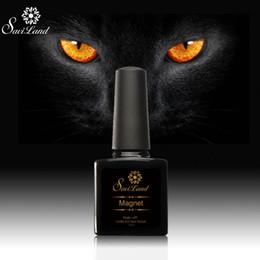 Wholesale Professional Uv Gel Manicure Kit - Wholesale-Saviland 10ml Cat Eye Nail Gel Magnet Soak Off UV LED Nail with A Magnet 3D Nail Polish Professional Manicure Kit Drop Shipping