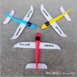 Giocattoli a LED Commercio all'ingrosso Puzzle Magici Volare alianti Aereo Aereo Schiuma Aereo Aeroplano Giocattolo educativo fai-da-te per bambini da