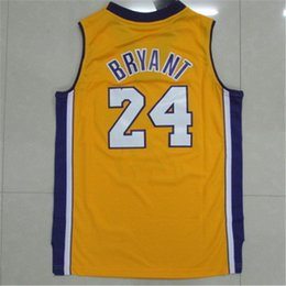 Wholesale Best Youth Jerseys - New #24 Kb Bryant Kids Youth Jersey,New Material Rev 30 Basketball jersey,Best quality Embroidery Logos Size S-XL Mix Order