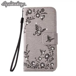 Wholesale Iphone Tpu Design Case - 6S Cases for iPhone 6 S Plus Rhinestone Case for iPhone 5 5S SE Cover Bling Protector for iPhone 7 Plus Cell Phone Shell Bags Wallet Design