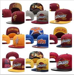 Wholesale Purple Snapback Hats - NEW 2017 SnapBack Cleveland CAVS Locker Room Official Hat Adjustable men women Baseball Cap